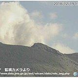 口永良部島 その後も噴火続く