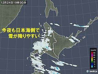 北海道 クリスマスにかけての天気