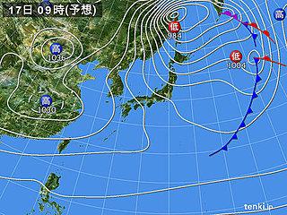 北海道・東北 18日にかけ暴風雪