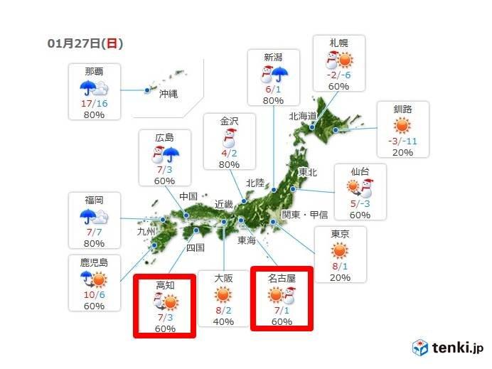 来週末 いよいよ西日本へも強烈寒気?