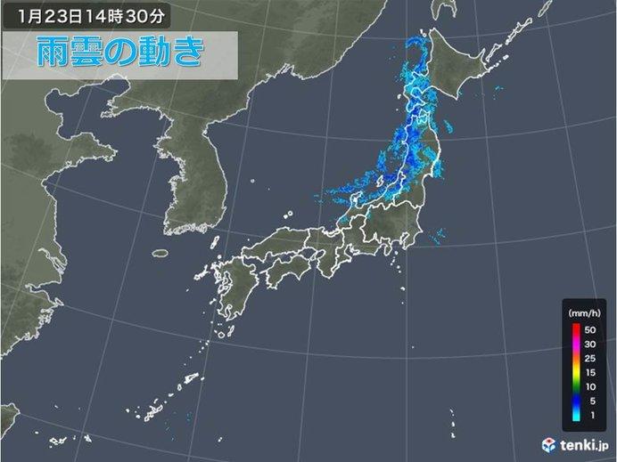 北海道は道東中心に大荒れ
