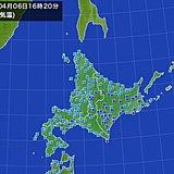 北海道 気温の上がらない一日