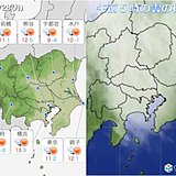 28日 関東 沿岸部は強い南風に注意