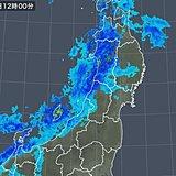 東北 今夜から日本海側中心に猛吹雪や大雪