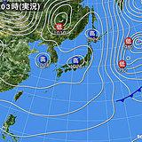 30日 穏やかな晴れ 夜は日本海側で雨