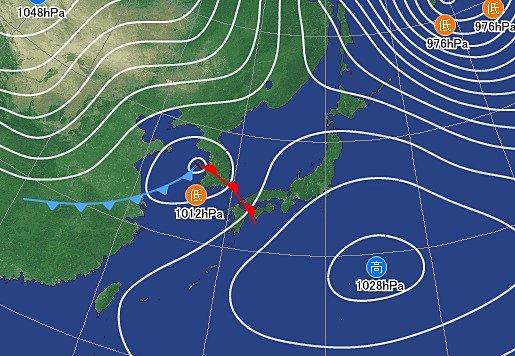 3日 西から下り坂 東北も雨