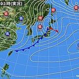 立春 春の暖かさ 北日本は猛ふぶき