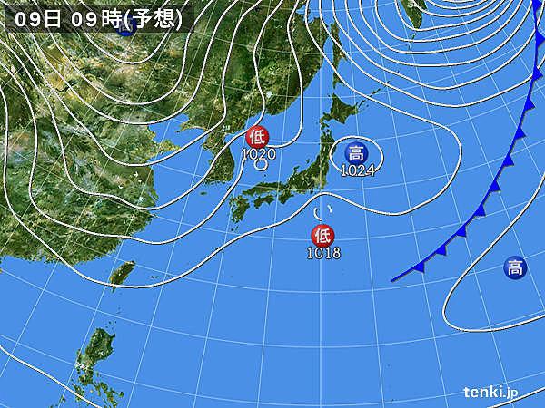 あすの天気 広く雨や雪 関東は平地で大雪の所も