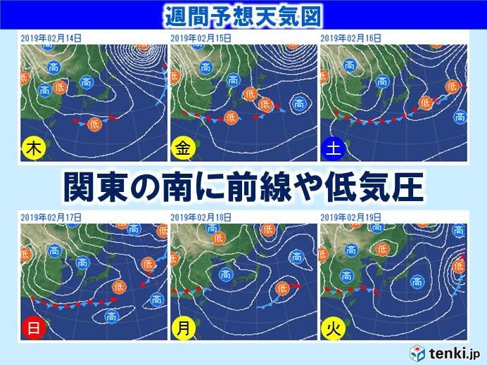 関東 金曜日の予報が雪に変わる_画像