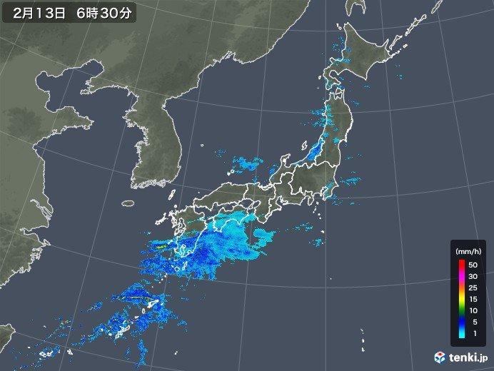 きょうの天気(沖縄・九州~関東)