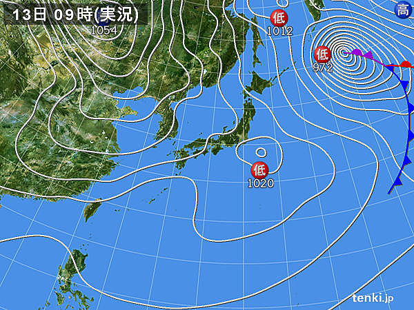 千葉県で雪チラチラ 都心は正午に5度台_画像