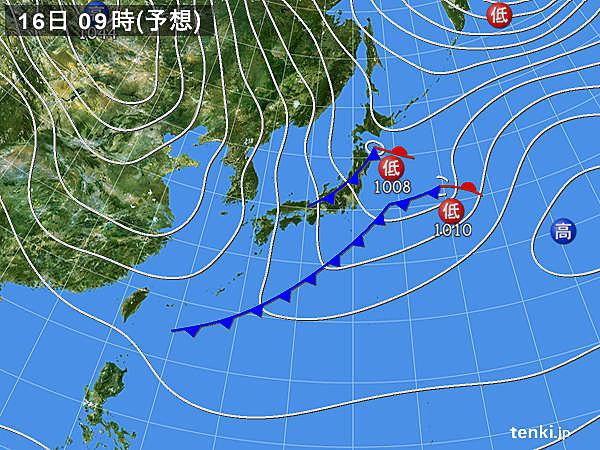 あすの天気 西高東低 北陸以北の日本海側は雪