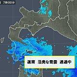 北海道 久しぶりに湿った重たい雪