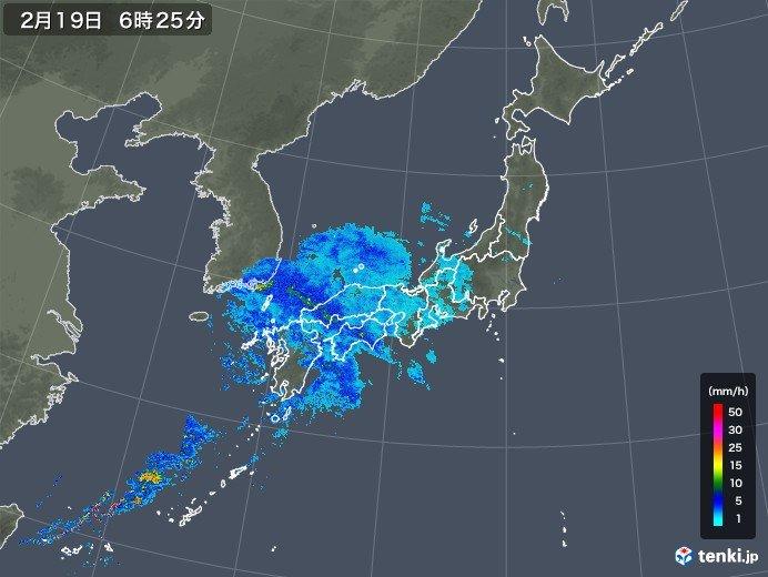19日「雨水(うすい)」関東も夜は雨