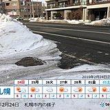 札幌 30年ぶりの少雪か
