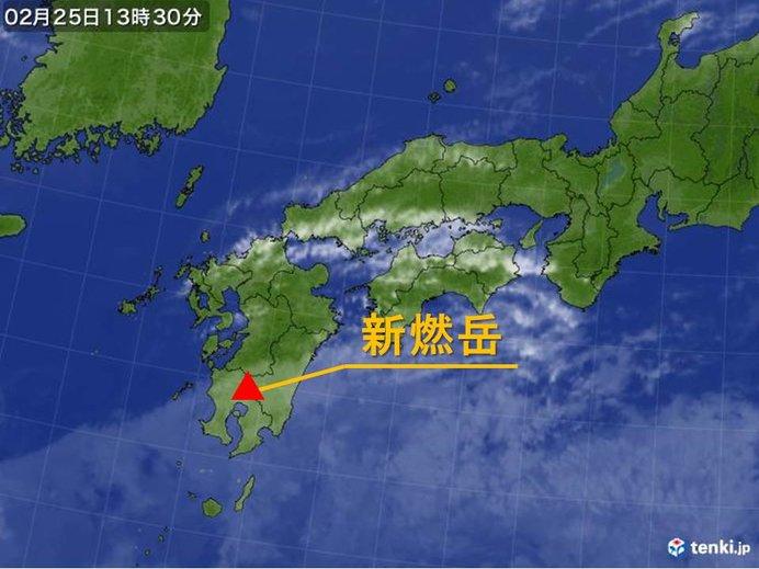 新燃岳 火山性地震が増加 警戒レベル2