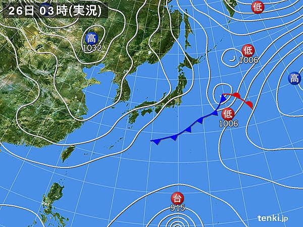26日 晴天も花粉大量飛散 北日本は雪