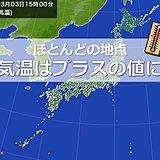 北日本 寒さ和らぎ 日差しあたたか