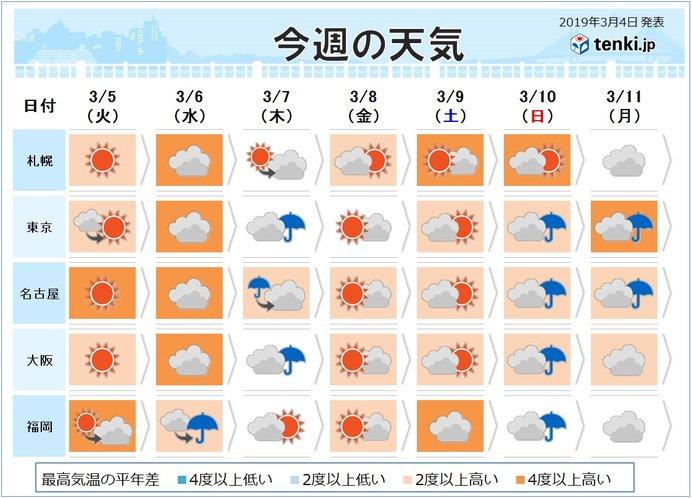 5日(火)、花粉の大量飛散に要注意_画像