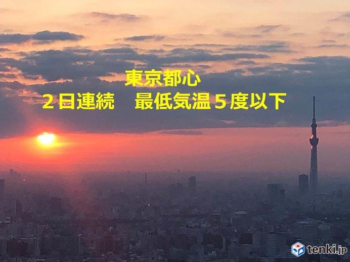 北海道より寒い長野 全国6割氷点下 6日ぶり冬日も