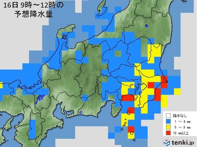 土曜は関東も強い雨や雷雨 冬の寒さに逆戻り