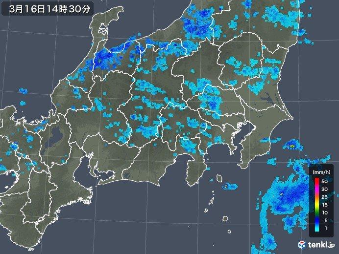 関東地方 大気不安定 空模様の変化に気をつけて