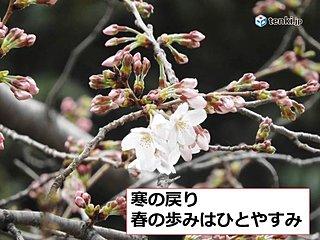 全国 寒の戻り 春の歩み一時停止