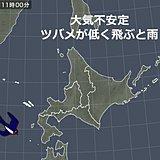 北海道 天気の急変に注意