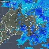関東甲信地方 今夜の雨や雪の見通し