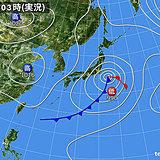 11日の天気 冷たい北風 強風に注意