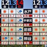 関東 週末のおでかけ 傘の出番