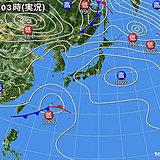 17日 北海道は急な雪解け注意 九州~関東にわか雨