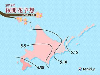いよいよ最終回 桜開花予想 日本気象協会発表