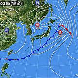 2日 関東や近畿・東海など天気急変 雨や雷雨に注意