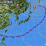 3日 強い日差し 関東以西は夏日 午後は急な雨も