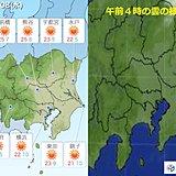 8日関東 青空広がり初夏の陽気