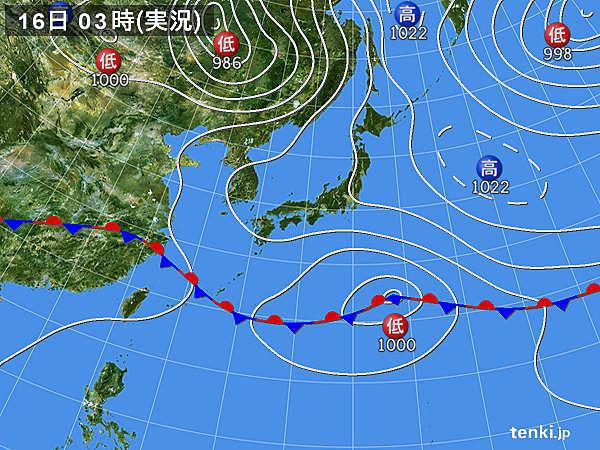 16日 晴れて7月並みの気温も 急な雨や雷雨注意