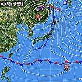 北海道 今夜~明日にかけて荒れた天気に注意!