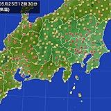 まだ5月なのに…関東 全都県庁所在地で真夏日達成