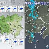 28日 関東 猛暑はないが、湿度が高く蒸し暑く