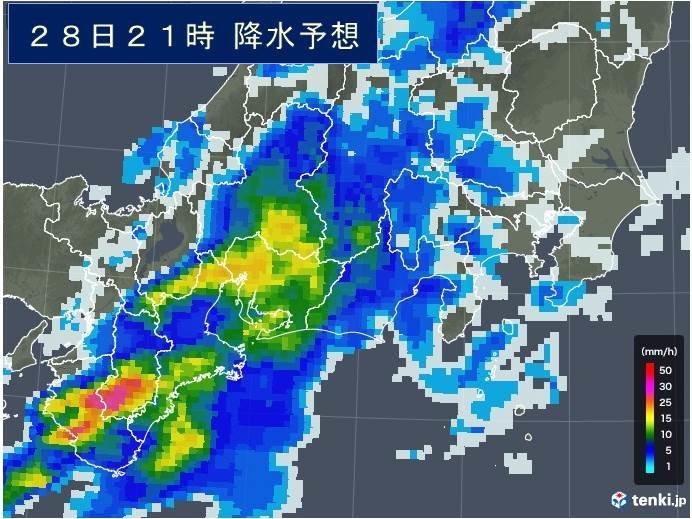 今後の雨の見通し
