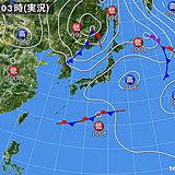 31日 全国的にムシムシ 日本海側を中心に雨