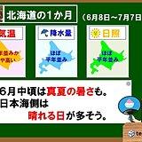 北海道の1か月 真夏の暑さ行ったり来たり