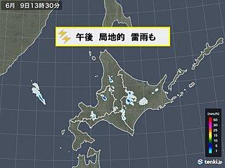 北海道 雷雨や霧に注意