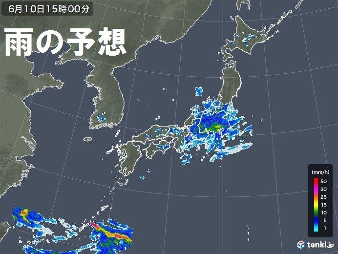 沖縄は大雨のおそれ