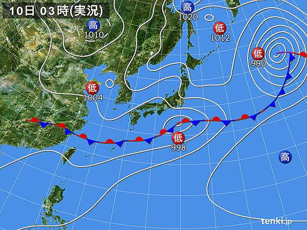 きょうの気温 東日本は梅雨寒続く