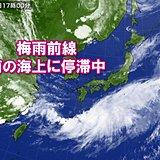 なかなか北上しない梅雨前線 この先の季節の進みは?