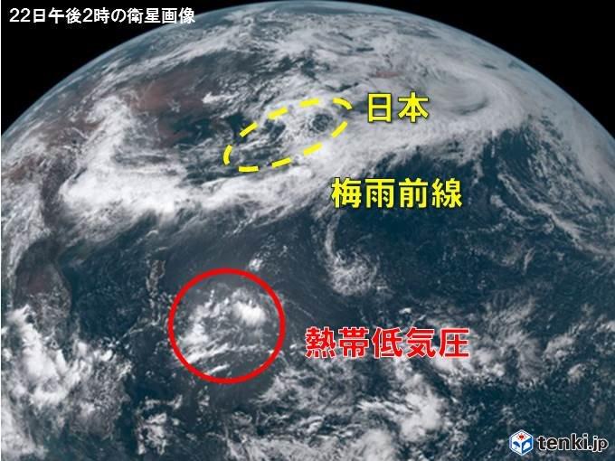 来週 梅雨前線ついに北上、活発化 大雨のおそれも