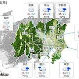 関東 1日の天気 昼頃に傘の出番 蒸し暑さ続く