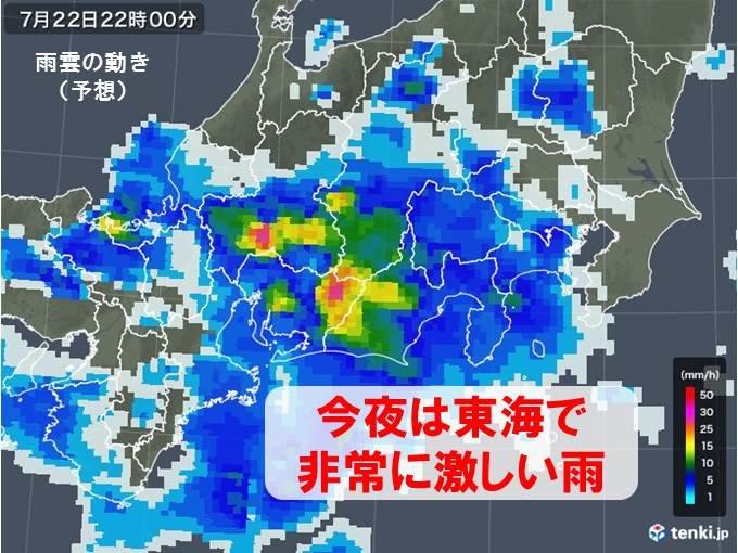 今夜は東海 あす関東で滝のような雨 梅雨明けまだ?